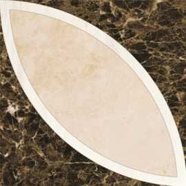 Мрамор PJG-13 Classic Magic Tile (Emperador) 30x30 от Marmocer (Китай)