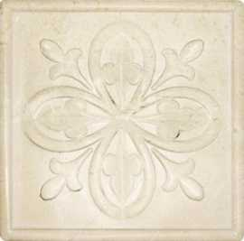 Настенный декор PJF-DH008-BJHG Carving Super Ivory Country 14.9x14.9 от Marmocer (Китай)
