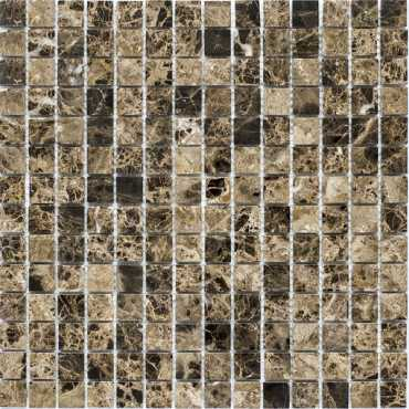 Мозаика Dark Emperador Polished (20x20 (JMST023)) 30.5x30.5 от StarMosaic (Китай)