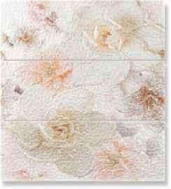 Панно Decor Set Lollipop flowers beige  (из 3-х штук)
